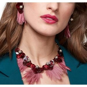 LELE SADOUGHI 14K Plated Wren Feather Necklace